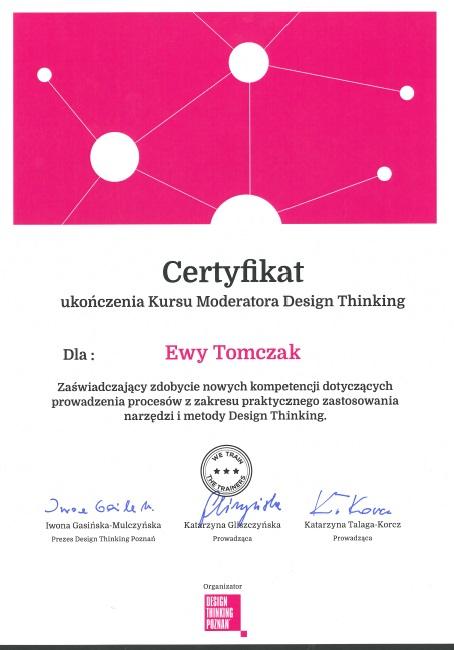 Moderator design thinking - DT Poznań