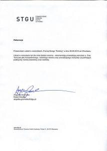 Referencje STGU dla Animator zmian ewa tomczak